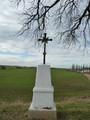 Křížek u cesty do Statenic (2013, ew)