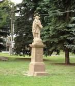 Socha sv. Jana Nepomuckého (Senomaty, Česko)