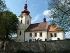Kostel sv. Václava (Chlum, Příbram, Česko)