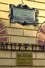 Pamětní deska V.B. Třebízského na bývalé faře (2015, vj)