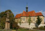 Kostel Nalezení Sv. Kříže (Bříství, Nymburk, Česko)