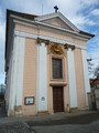 Kostel Povýšení Sv. Kříže (2013, ew)
