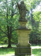 Socha sv. Jana Nepomuckého (Nový Dům, Česko)