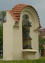Socha sv. Jana Nepomuckého (Nymburk, Česko)