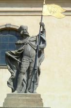 Socha sv. Václava (Unhošť, Česko)