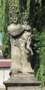 Sousoší Panny Marie s Ježíškem (2015, ew)