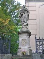 Socha Panny Marie (Dobrovice, Česko)