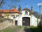 Klášter františkánů (Hájek, Červený Újezd, Praha-západ, Česko)