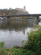 Most Josefa Straky (Mělník, Česko)