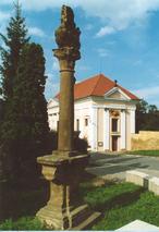 Mariánský sloup (Buštěhrad, Česko)