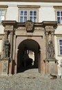 Vstupní raně barokní portál (2017, ew)