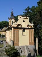 Zámecký kostel sv. Václava (Jizerní Vtelno, Česko)