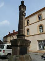 Pomník Matouše Ulického (Čáslav, Kutná Hora, Česko)