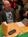 Křest knihy Mezi alembikem a spilkou (6. 11. 2012, foto Roman Hájek)