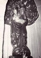 Socha Panny Marie Družecké (Družec, Česko)