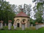 Hrobka Thun-Hohensteinů (Liblice, Mělník, Česko)