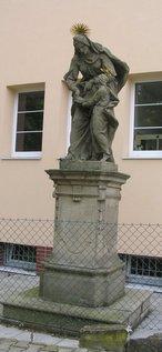 Socha sv. Anny (Hořín, Česko)