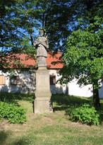 Socha sv. Jana Nepomuckého (Velká Dobrá, Česko)