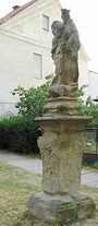 Socha sv. Václava (Kolešovice, Česko)
