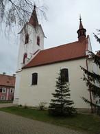Kostel Stětí sv. Jana Křtitele (Ořech, Česko)