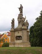 Sousoší sv. Mikuláše Tolentinského (Kokořín, Česko)