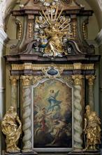 Obraz Zasnoubení Panny Marie (Slaný, Česko)