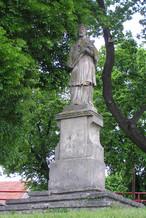 Socha sv. Jana Nepomuckého (Trhový Štěpánov, Česko)