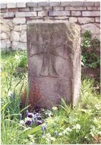 Kamenný kříž (Libušín, Česko)