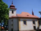 Kostel sv. Barbory (Lužná, Česko)