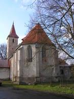 Kostel Nanebevzetí Panny Marie (Hostín u Vojkovic, Česko)