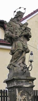 Socha sv. Jana Nepomuckého (Kovanice, Česko)