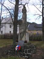 Pomník padlým (Libomyšl, Česko)
