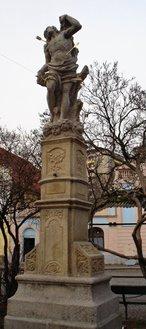Socha sv. Šebestiána (Dobříš, Česko)