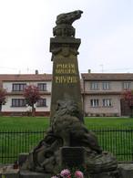 Pomník padlým v první světové válce (Trhový Štěpánov, Česko)