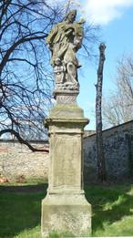 Socha sv. Jana Nepomuckého (Unhošť, Česko)