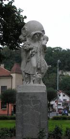 Sousoší Čtvero ročních období (Kralupy nad Vltavou, Česko)