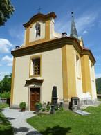 Kostel sv. Václava (Horní Mokropsy,Všenory, Česko)