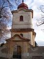 Průčelí kostela sv. Jana Křtitele (2008, ew)