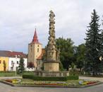 Sloup Nejsvětější Trojice (Bakov nad Jizerou, Česko)