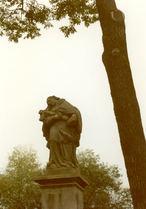 Socha sv. Jana Nepomuckého (Sazená, Česko)