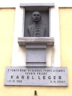 Busta Karla Legera (Kolín, Česko)