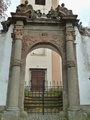 Barokní hřbitovní brána (2016, ew)