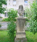 Busta Jana Amose Komenského (Bdín, Česko)