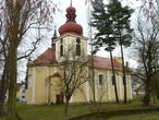 Kostel sv. Jakuba Většího (Kněževes, Rakovník, Česko)