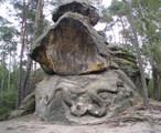 Reliéf hada (Tupadly, Česko)