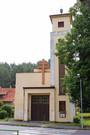 Průčelí Husova sboru (2014, ew)