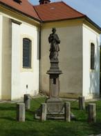 Socha sv. Jana Nepomuckého (Nové Strašecí, Česko)