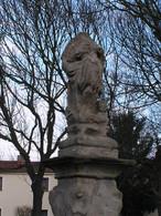 Socha sv. Floriána (Kolešovice, Česko)