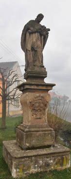 Socha sv. Antonína (Chrášťany, Rakovník, Česko)