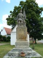 Socha sv. Floriána (Soseň, Česko)